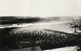 Gefangenenlager bei Fort Snelling