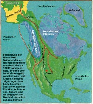 Indianerstamme Nordamerikas Karte.Wo Kamen Die Indianer Her